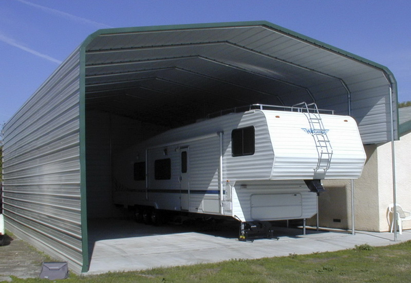Rv covers rv carports motorhome covers rv buildings for Rv buildings